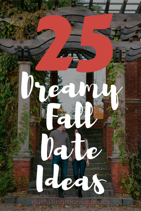 25 dreamy fall date ideas - I love this list! Especially #14 - that would be hilarious!