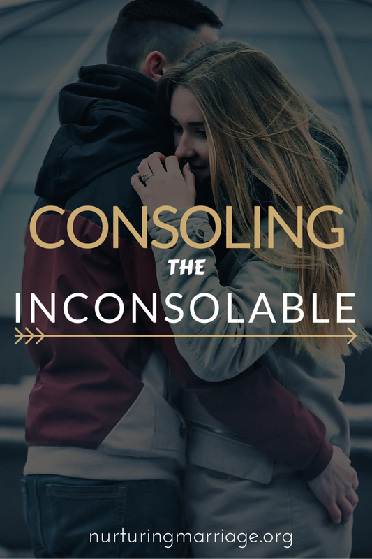 How do you help a spouse who is literally impossible to console? #marriagehelp #marriageadvice