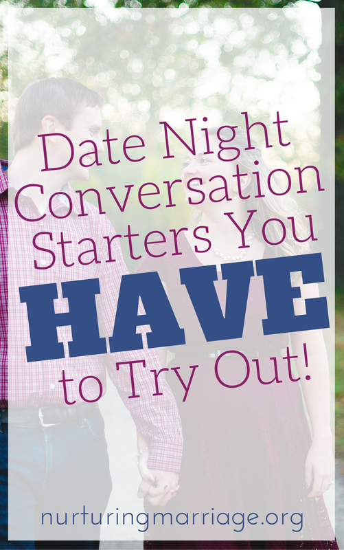 Date nights with your husband or wife don't have to LACK in meaningful and fun conversation. Try these conversation starters for fun and lively communication together. Would you rather live one life that lasts 1,000 years or live ten lives that last 100 years each? Would you rather never laugh again or never use your smartphone again? Would you rather live in the same home for 25+ years or move around 15 times? Would you rather lose $1000 or lose all of your phone contacts? #marriage #datenight #relationshipgoals
