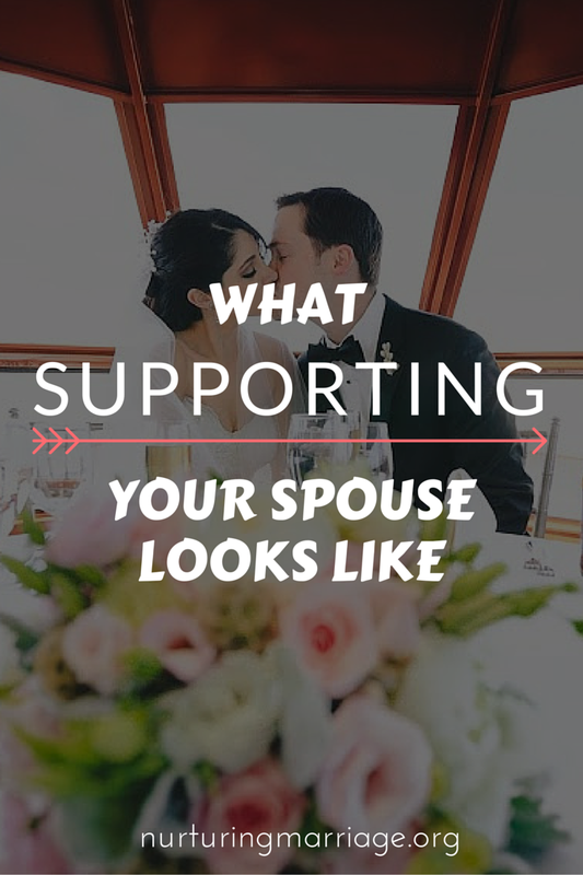 This list is awesome, and it makes me feel like a much more supportive spouse than I thought I was! Marriage rocks.