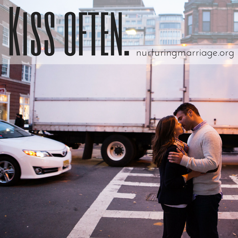 hello. Kiss your spouse - OFTEN. like, really kiss them. This site has so many cute quotes. I love it! #wedding & #marriage inspiration!
