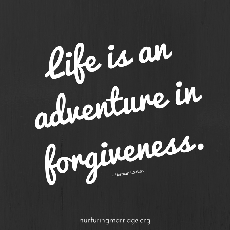 Isn't forgiveness what marriage is all about? This website has tons of awesome quotes! #nurturingmarriage