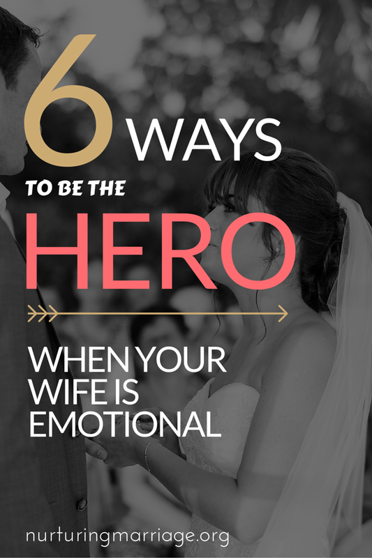 Isn't this the truth? I really liked this article, because let's be honest...women are just emotional, and that's okay! #marriage #nurturingmarriage