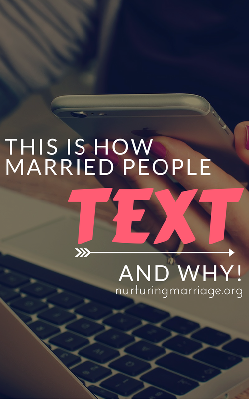Such a great read. These texts between husbands and wives are priceless. The other day I sat down to write an article about the important of texting in marriage. I was originally thinking along the lines of