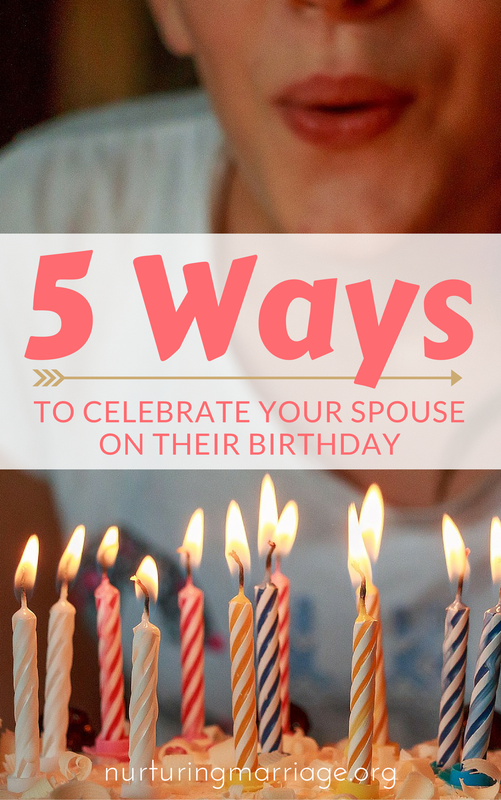 It is so hard to know what to do for your spouse on their birthday...what gift would she love? What present would he hate? Check out these 5 Fabulous Ideas for Celebrating Your Spouse on Their Birthday - I love #3