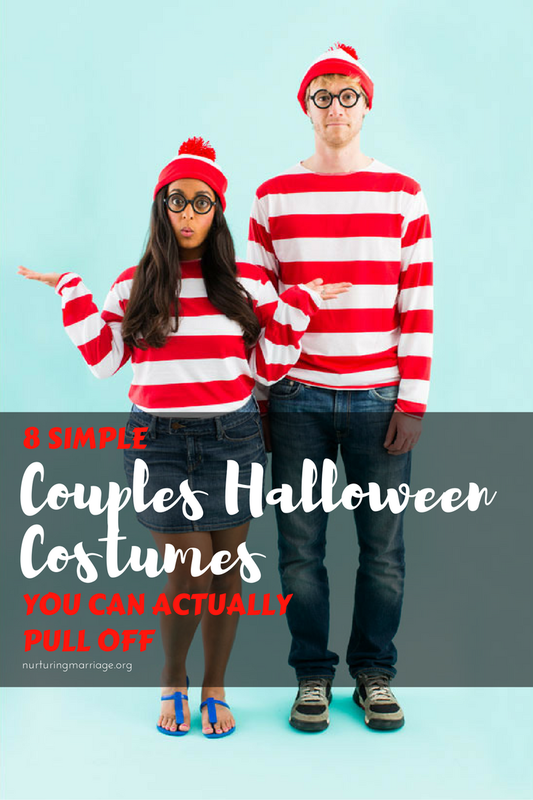 8 Simple Couples Halloween Costumes you can actually pull off!