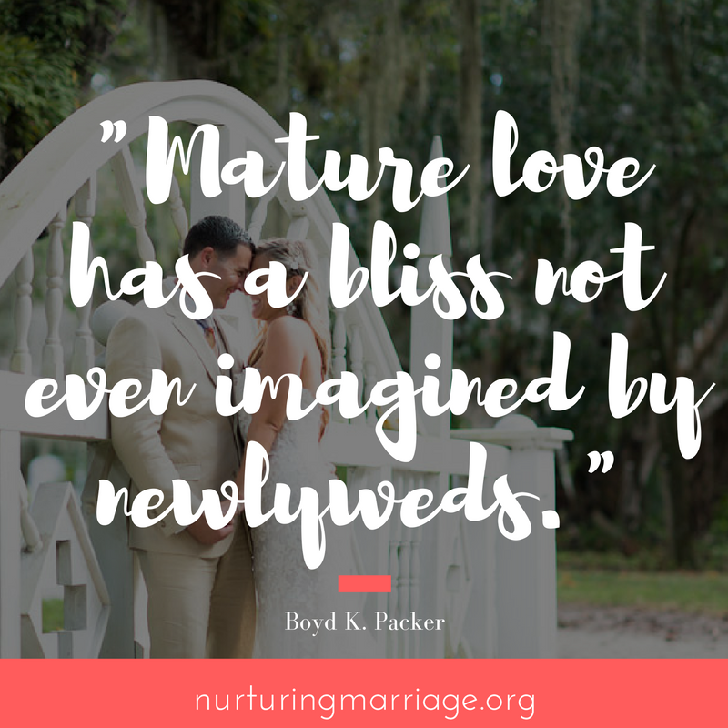 mature love is what happily ever afters are made of