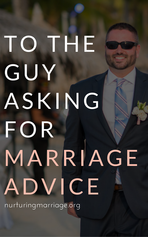 you want marriage advice? we've got you covered.
