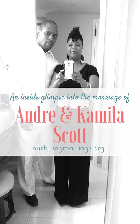 An inside glimpse into the #marriage of Andre & Kamila Scott. This #marriage website is the best we've found!