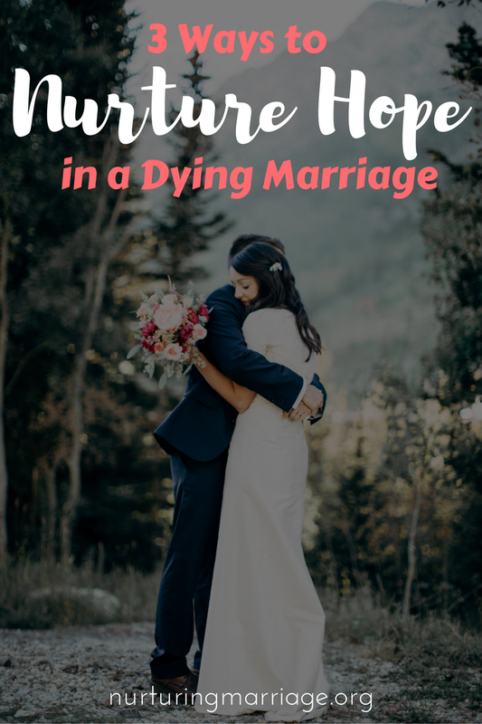 You are on your last string. You have tried to make things work in your marriage, but your spouse doesn't seem to care. You are hurt, frustrated, depressed, and discouraged. You most likely feel like your marriage was not the marriage you always hoped for, dreamed for, or signed up for. #nurturehope #nurturingmarriage