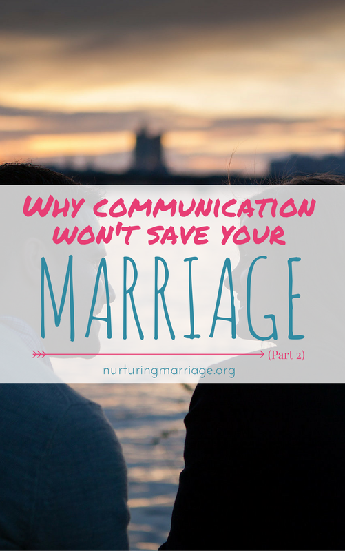 Why Communication Won't Save Your Marriage (Part 2) - Here's the trick: We all have insecurities and fears in our relationships that we need help overcoming. When you can help soothe each others' anxieties about where you stand in the relationship you can avoid eruptions that turn into fights. When we sooth each other, we can feel calm and discuss issues calmly and safely, instead of from a place of fear and reactivity. So basically, you are trying to respond to your partner's needs and give your partner the chance to respond to you by expressing your needs to them.