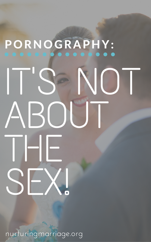 Pornography: It's Not About the Sex! The issue with these perceptions is that pornography is not all about the sex! More often than not, pornography is a symptom, not a cause, of the emotional turmoil individuals experience when they find themselves isolated, lonely, guilty, and full of shame. If you surveyed people who viewed pornography anywhere from a few times a week to a few times a month, you'd find a few things in common about their background. See if these match up for yourself or anyone you know who struggles with this addiction: (this article is soooo helpful and has some great resources!)