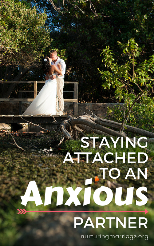 Is your spouse super anxious? Do they smother you and never give you enough space? This article is SUPER helpful in understanding what your anxious spouse needs from you in order for your relationship to thrive! #anxiety #marriage #relationshiphelp