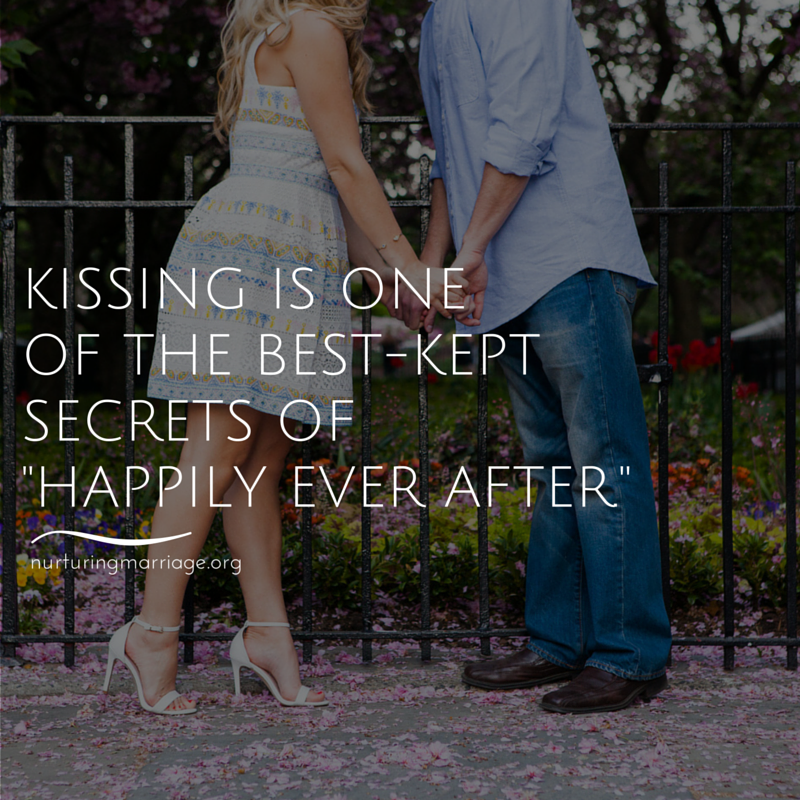 Yes, kissing is one of the best-kept secrets of