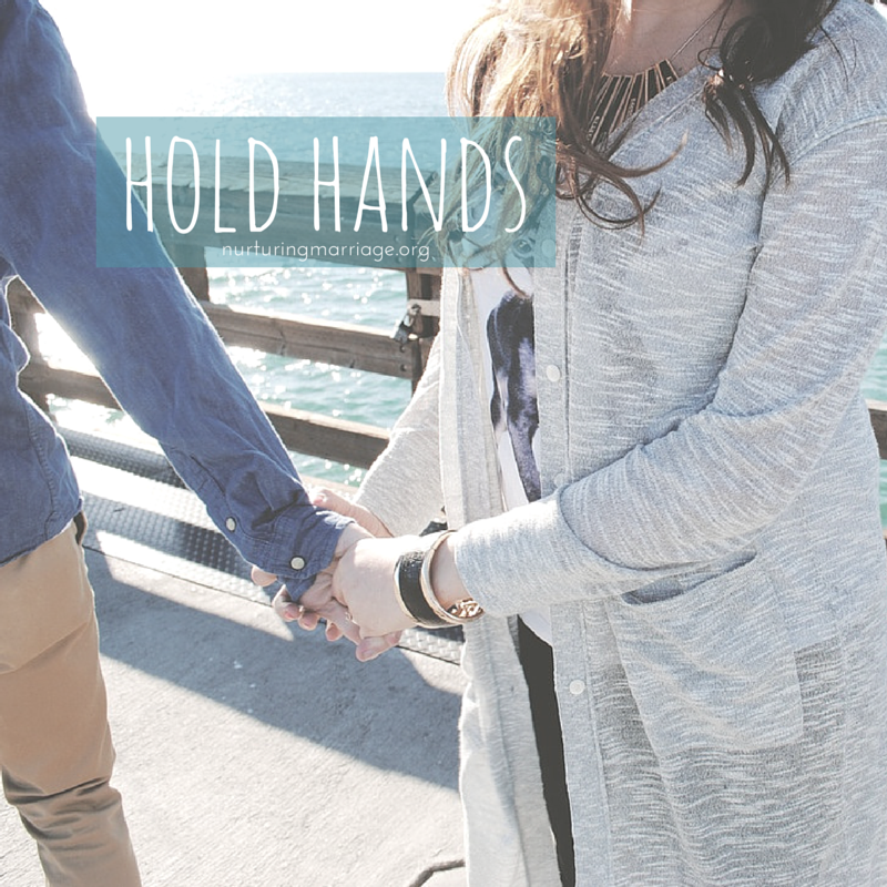 Hold hands. Just do it. Oh, and so many awesome marriage quotes and images to check out. REPIN for sure.