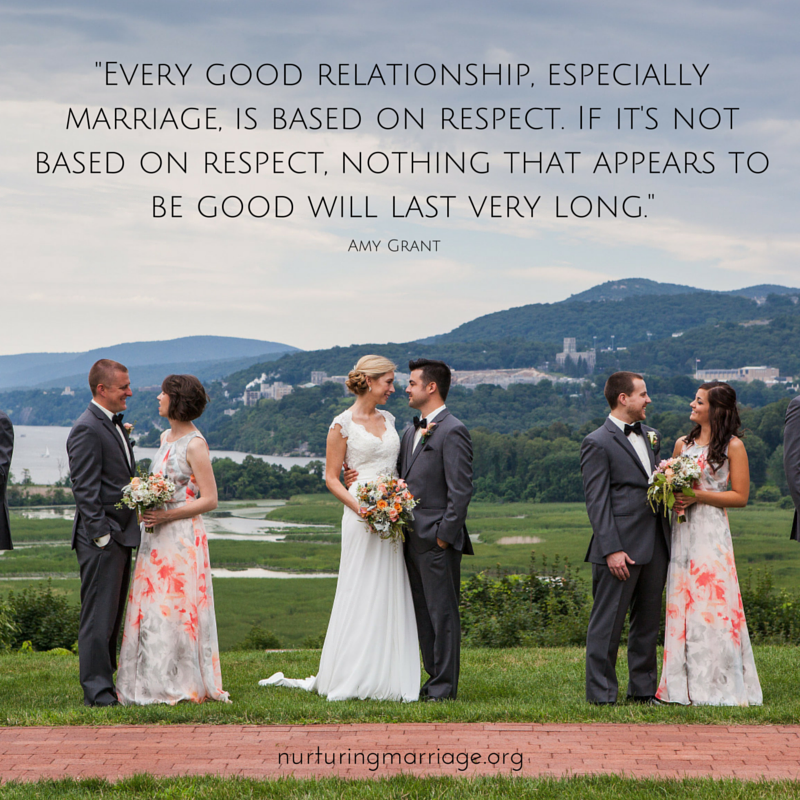 Every good relationship, especially marriage, is based on respect. TONS OF AWESOME QUOTES!