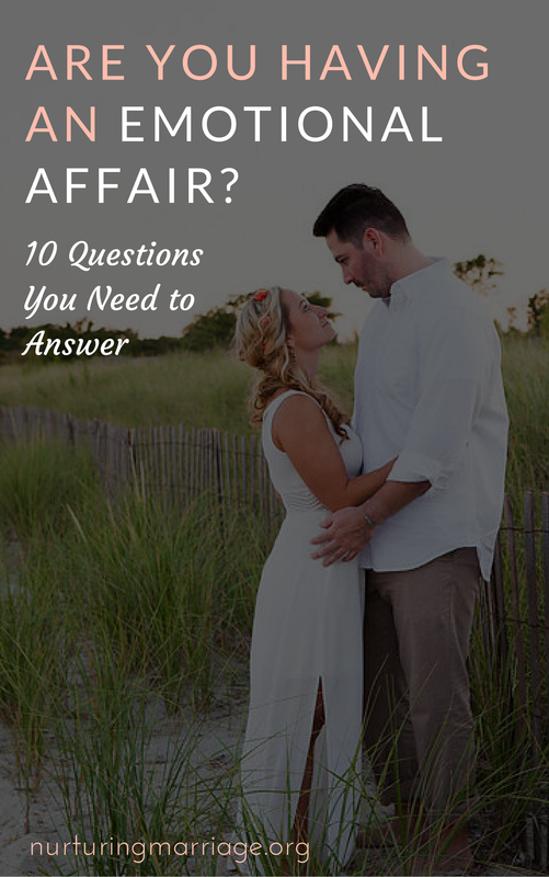 These questions are so helpful to know if you are having an emotional affair or not!