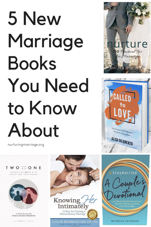I want to read all of these! The best new marriage books around. #marriagebooks