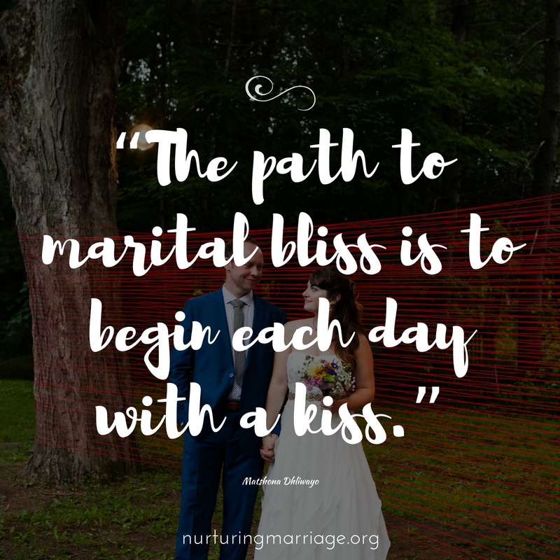 marital bliss = simple kiss #marriagegoals #nurturingmarriage