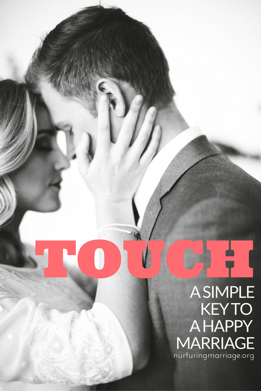 This article was written for me - I need more non-sexual touch from my husband. It helps me feel loved and definitely helps get me in the mood! #marriage